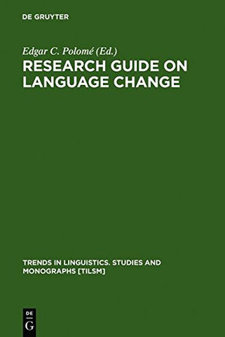 Research Guide on Language (Trends in Linguistics)