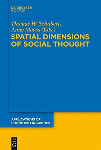 SPATIAL DIMENSIONS  ACL  18 (Applications of Cognitive Linguistics [Acl])