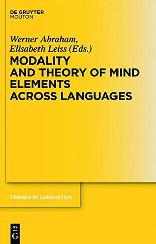 Theory of Mind Elements across Languages (Trends in Linguistics: Studies and Monographs)