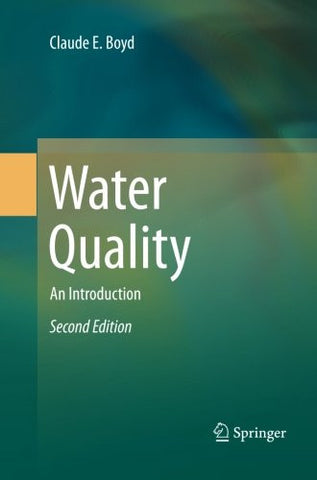 Water Quality: An Introduction