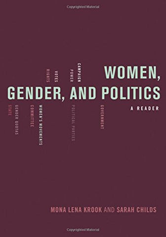Women, Gender, and Politics: A Reader