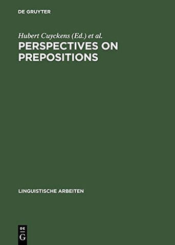 Perspectives on Prepositions (Linguistische Arbeiten)