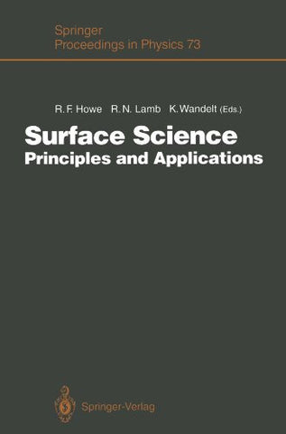 Surface Science: Principles and Applications (Springer Proceedings in Physics)