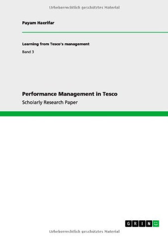 Performance Management in Tesco