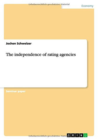 The independence of rating agencies