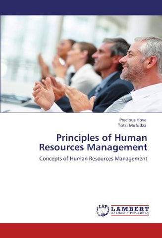 Principles of Human Resources Management: Concepts of Human Resources Management
