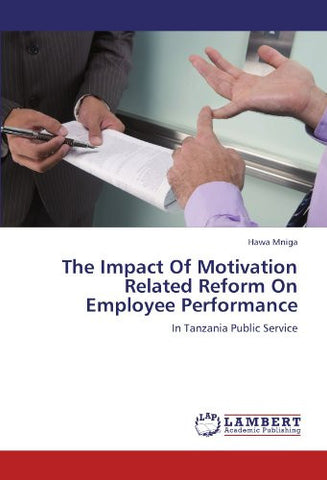 The Impact Of Motivation Related Reform On Employee Performance: In Tanzania Public Service