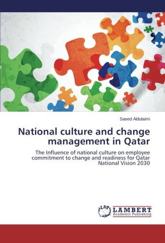 National culture and change management in Qatar: The Influence of national culture on employee commitment to change and readiness for Qatar National Vision 2030