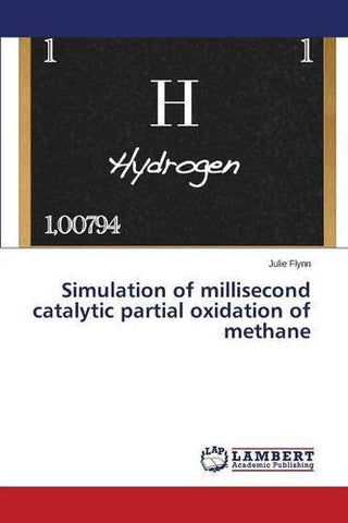 Simulation of millisecond catalytic partial oxidation of methane