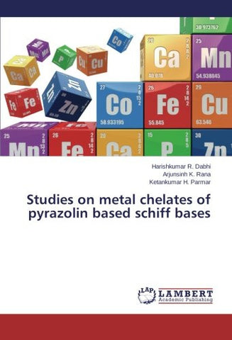 Studies on metal chelates of pyrazolin based schiff bases
