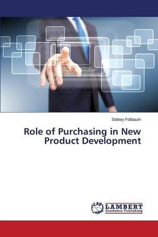 Role of Purchasing in New Product Development