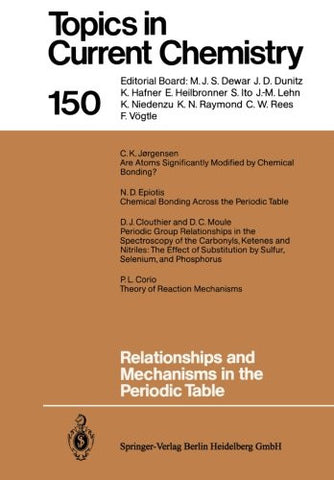 Relationships and Mechanisms in the Periodic Table (Topics in Current Chemistry)