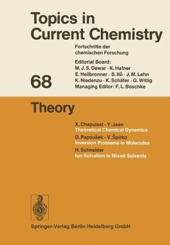 Theory (Topics in Current Chemistry)