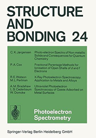 Photoelectron Spectrometry (Structure and Bonding)