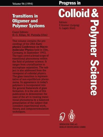 Transitions in Oligomer and Polymer Systems (Progress in Colloid and Polymer Science)