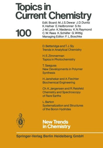 New Trends in Chemistry (Topics in Current Chemistry)