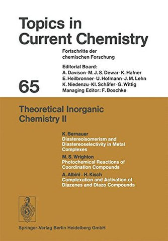 Theoretical Inorganic Chemistry II (Topics in Current Chemistry)
