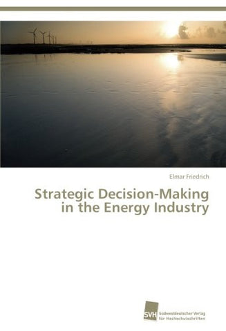 Strategic Decision-Making in the Energy Industry