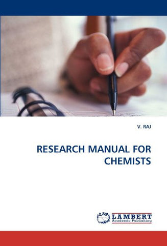 RESEARCH MANUAL FOR CHEMISTS