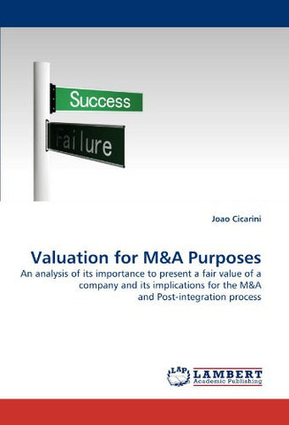 Valuation for M&A Purposes: An analysis of its importance to present a fair value of a company and its implications for the M&A and Post-integration process