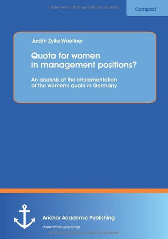 Quota for women in management positions?  An analysis of the implementation of the women's quota in Germany