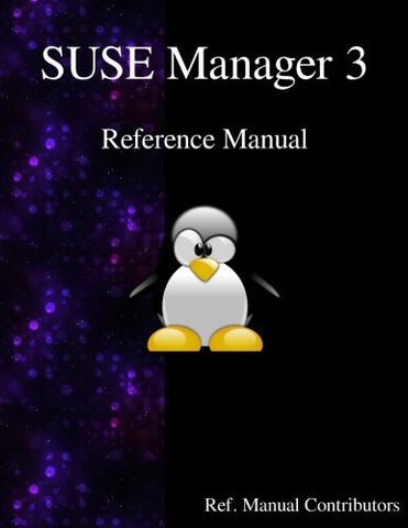 SUSE Manager 3 - Refernce Manual