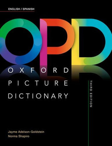Oxford Picture Dictionary Third Edition: English/Spanish Dictionary