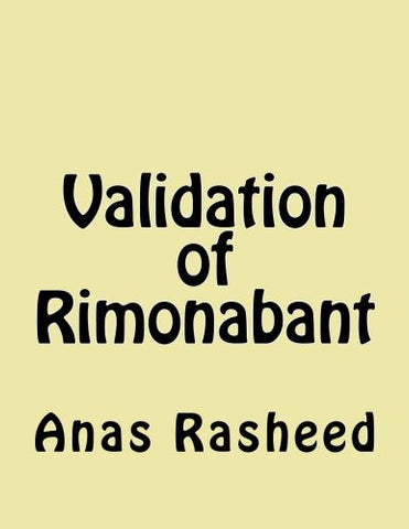 Validation of Rimonabant
