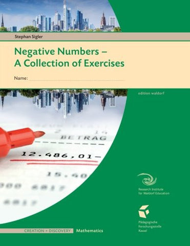 Negative Numbers: A Collections of Exercises for Students