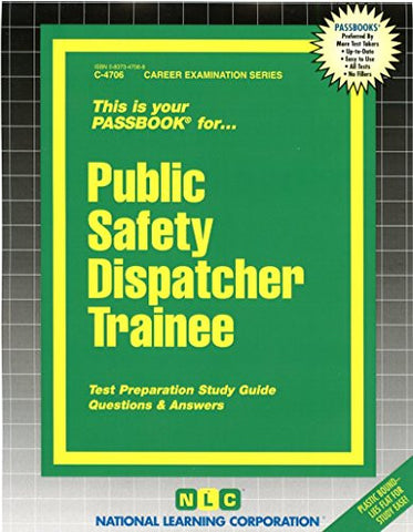 Public Safety Dispatcher Trainee (Passbooks)