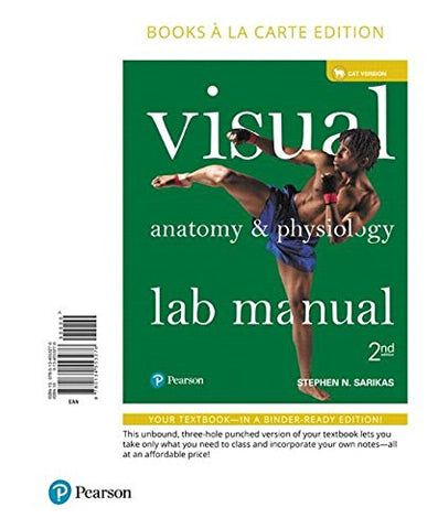 Visual Anatomy & Physiology Lab Manual, Cat Version, Books a la Carte Edition (2nd Edition)