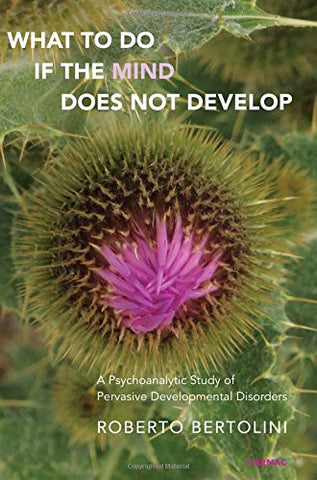 What to Do if the Mind Does Not Develop?: A Psychoanalytic Study of the Pervasive Development Disorders