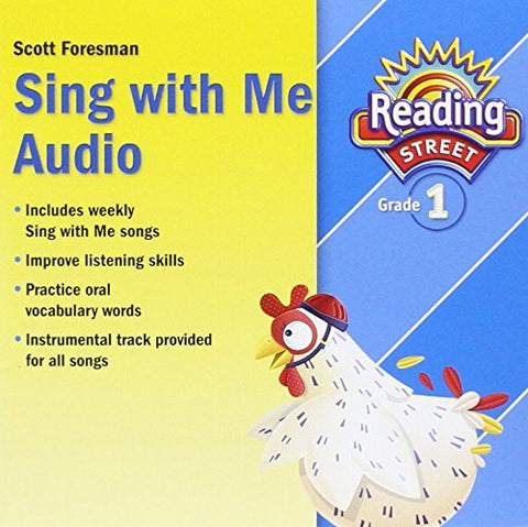 READING 2011 SING WITH ME AUDIO CD GRADE 1