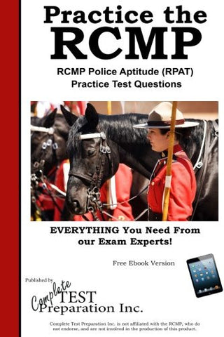 Practice the RCMP!  RCMP Police Aptitude (RPAT)  Practice Test Questions