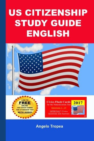 US Citizenship Study Guide English