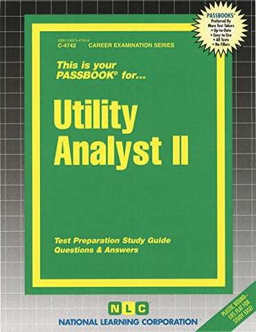 Utility Analyst II (Passbooks) (Career Series (Natl Learning Corp))