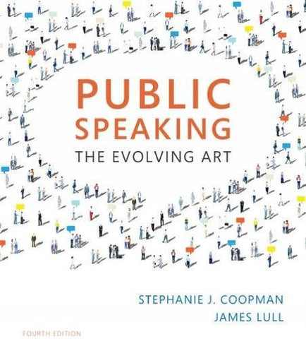 Public Speaking: The Evolving Art (with MindTap™ Speech, 1 term (6 months) Printed Access Card)
