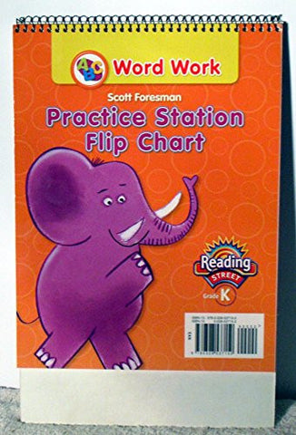 READING 2011 WORD WORK PRACTICE STATION FLIP CHART GRADE K