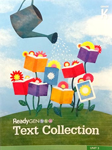 READYGEN 2014 TEXT COLLECTION BIG BOOK GRADE K VOLUME 3