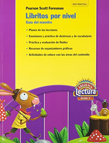 READING 2011 SPANISH LEVELED READER TEACHING GUIDE ON LEVEL GRADE 3