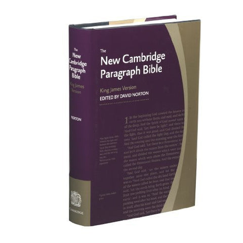 New Cambridge Paragraph Bible KJ590:T: Personal size
