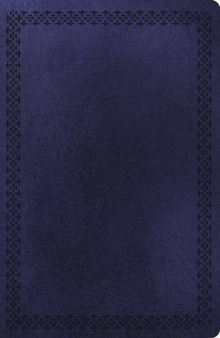 NKJV, Super Giant Print Reference Bible, Giant Print (16pt), Imitation Leather, Navy, Full Color