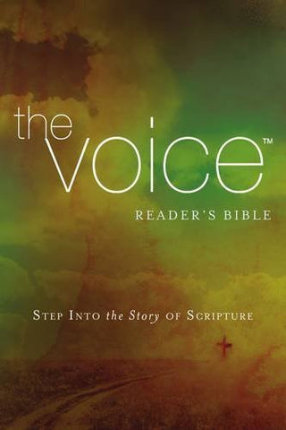 The Voice Readers Bible, Paperback, Multicolor: Step Into the Story of Scripture