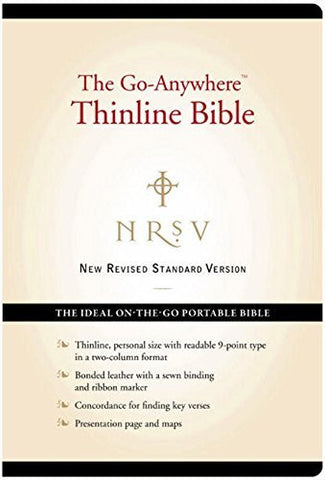 NRSV ?û The Go-Anywhere Thinline Bible [Black]