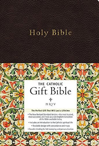 NRSV - The Catholic Gift Bible (Black, Imitation Leather)