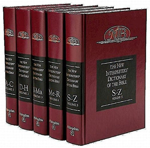 The New Interpreter's Dictionary of the Bible (5 Volumes)