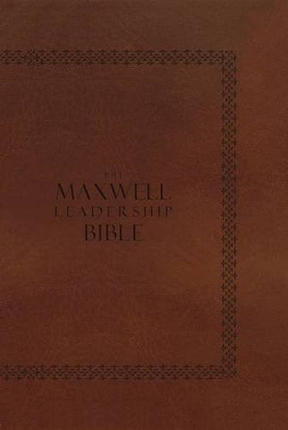NKJV, The Maxwell Leadership Bible, Personal Size, Hardcover: Briefcase Edition