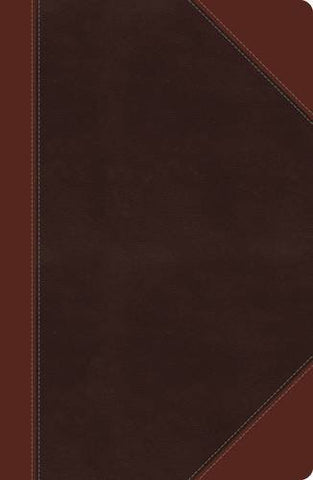 NKJV, Reference Bible, Giant Print (13pt), Imitation Leather, Brown, Center Column (Classic Series)