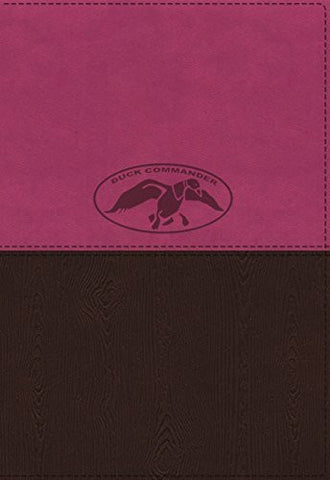NKJV, Duck Commander Faith and Family Bible, Imitation Leather, Pink/Brown, Indexed