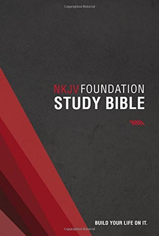 NKJV, Foundation Study Bible, Hardcover